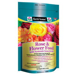 Ferti-Lome  Rose and Flower Food with Systemic  Granules  Insect Killer  4 lb.