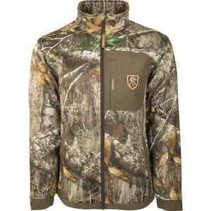 Drake  Endurance  L  Long Sleeve  Men's  Full-Zip  Jacket  Realtree Edge