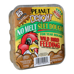 C&S Products  Peanut Delight  Assorted Species  Wild Bird Food  Beef Suet  11.75 oz.