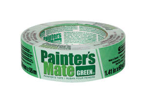 Painter's Mate  2165 yd. L x 1.41 in. W Green  Medium Strength  Masking Tape  1 pk