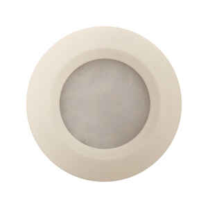 Amertac  White  Plug-In  LED  Puck Light  1