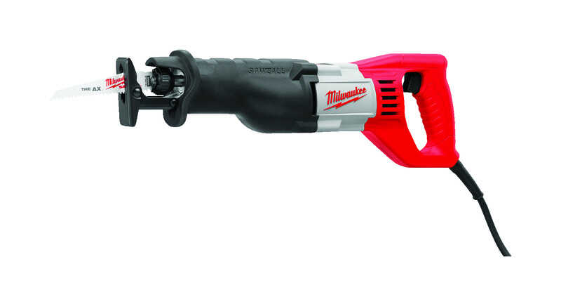 Milwaukee  SAWZALL  Corded  12 amps Reciprocating Saw  Bare Tool  120 volt