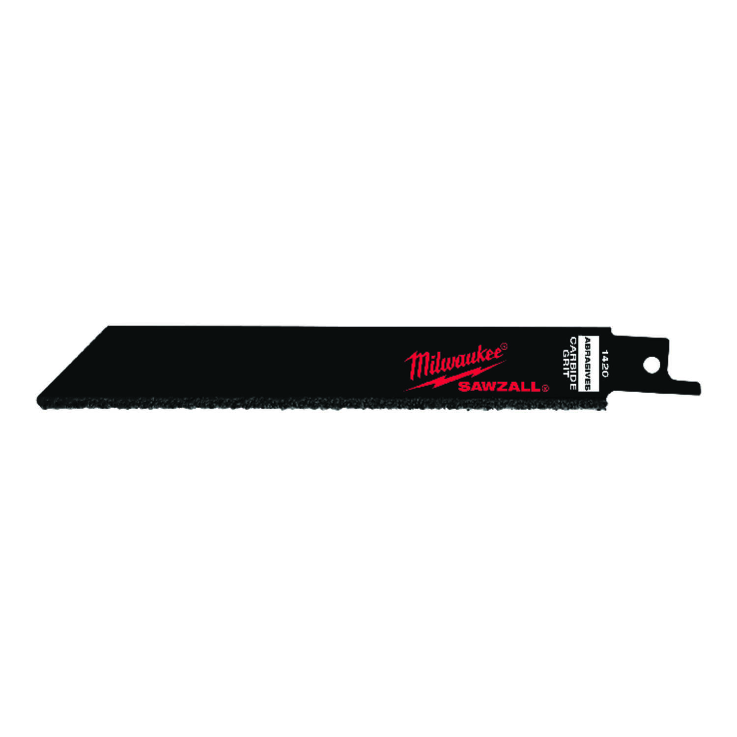 Milwaukee  SAWZALL  6 in. L x 0.68 in. W Carbide Grit  Carbide-Grit  Reciprocating Saw Blade  Multi