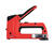 Ace  5/16 3/8 7/16 in. Flat Crown  4-in-1 Staple Gun and Brad Nailer  Red