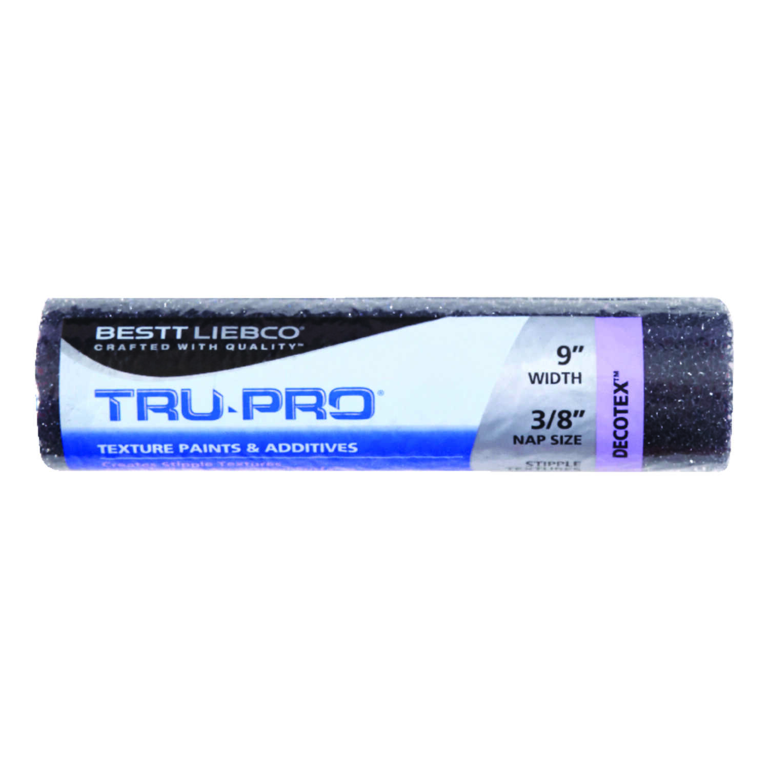 Bestt Liebco  Tru-Pro  Reticulated Poly  3/8 in.  x 9 in. W Paint Roller Cover  For Texture Surfaces