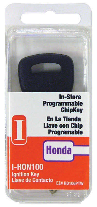 Hy-Ko  Automotive  Chipkey  EZ# HD106P  Single sided For For Honda