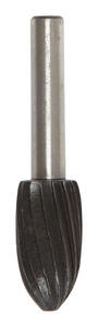 Vermont American  1/2 in. Dia. x 7/8 in. L Alloy Steel  Rotary File  Cylindrical with Round End  Sin