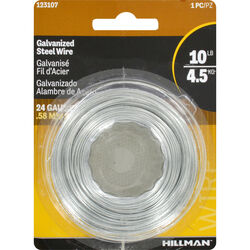 Hillman 250 ft. L Galvanized Steel 24 Ga. Wire