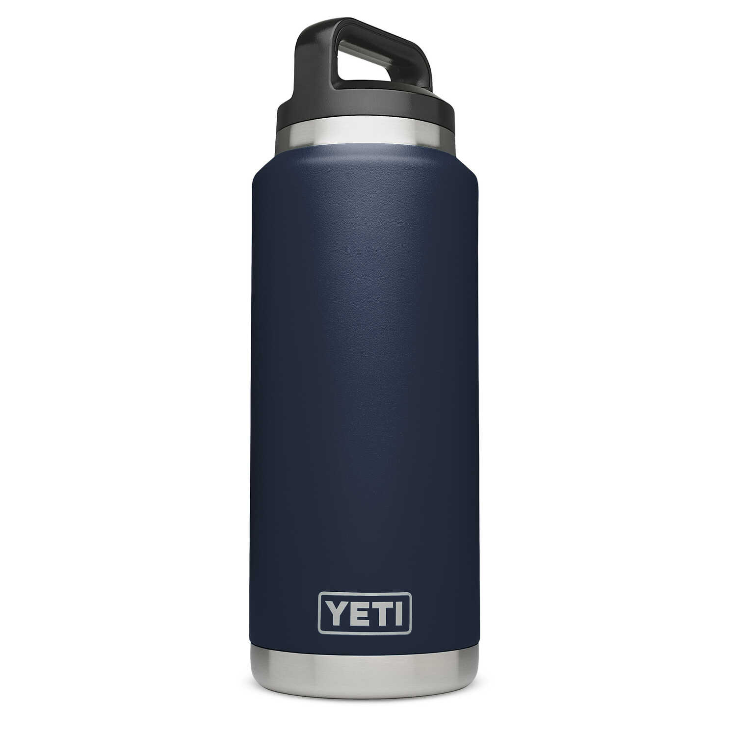 YETI  Rambler  Navy  Stainless Steel  Insulated Bottle  BPA Free 36 oz.