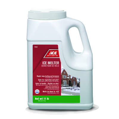 Ace  Sodium Chloride, Magnesium Chloride and MG-104  Ice Melt  11 lb. Granule