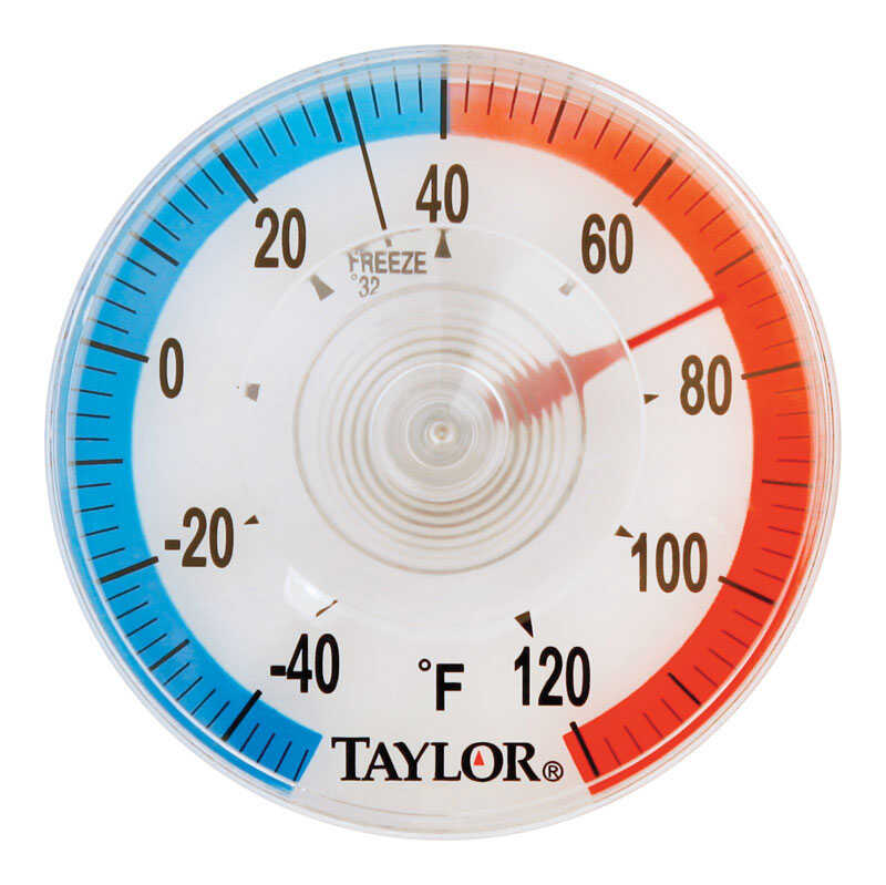 Taylor  Dial Thermometer  Plastic