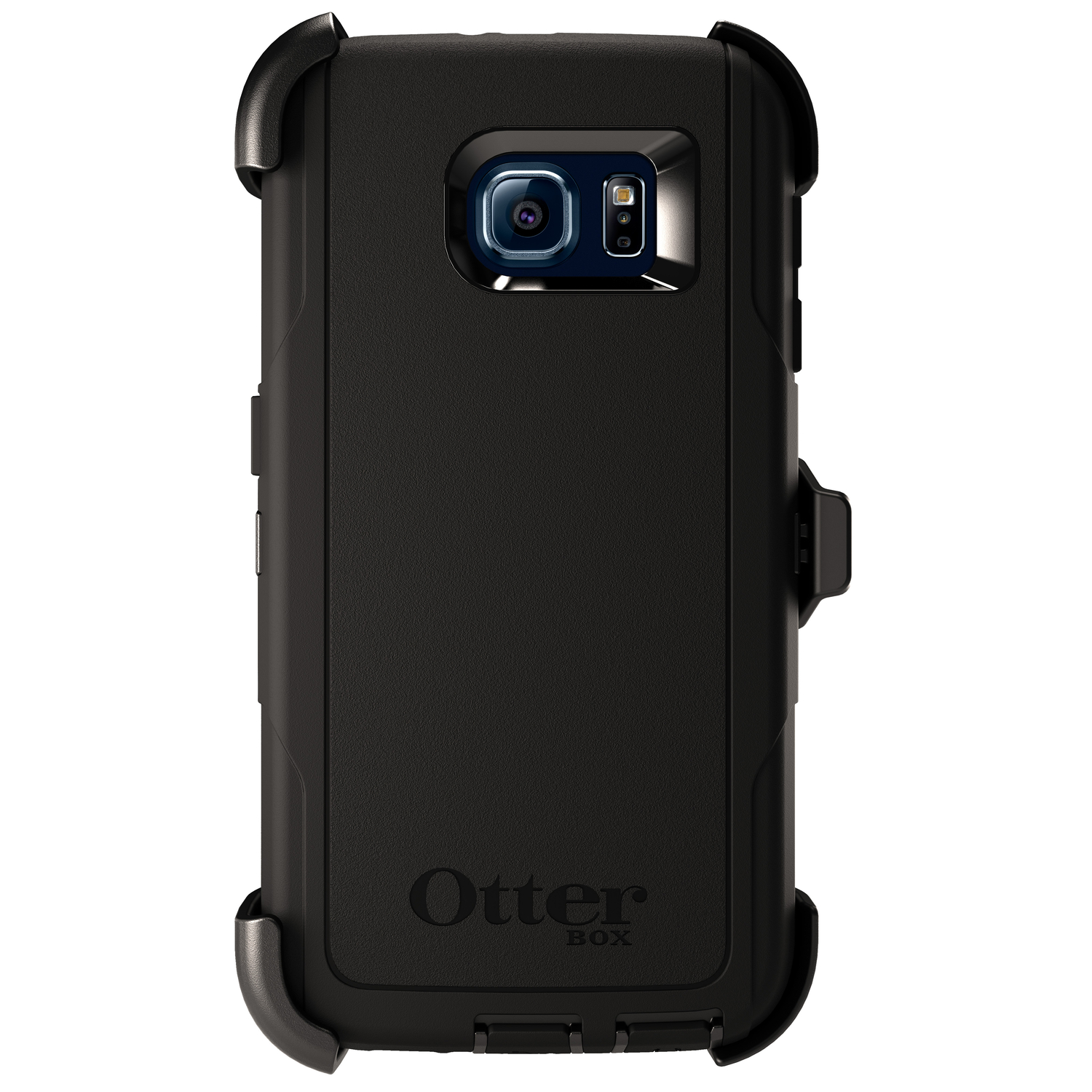 Otter Box  Defender  Black  Samsung  Galaxy S6  Cell Phone Case