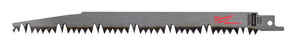 Milwaukee  SAWZALL  9 in. L x 1 in. W Carbon Steel  Pruning  Reciprocating Saw Blade  5 TPI 1 pk