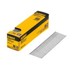 DeWalt  1-1/4 in. 18 Ga. Straight Strip  Brad Nails  Smooth Shank  2500 pk