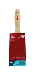 Ace  2-1/2 in. W Medium Stiff  Flat  Paint Brush