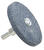 Forney 2-1/2 in. Dia. x 1/4 in. thick Mounted Grinding Wheel 1 pc.