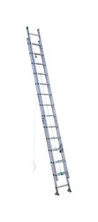 Werner  28 ft. H x 17.33 in. W Aluminum  Extension Ladder  Type II  225 lb.