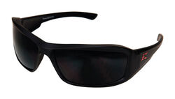 Edge Eyewear Brazeau Polarized Safety Glasses Smoke Lens Black Frame 1 pc.