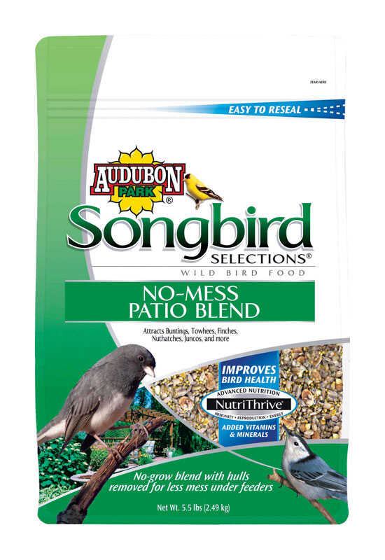 Audubon Park  Songbird Selections  Assorted Species  Wild Bird Food  Millet  5.5 lb.