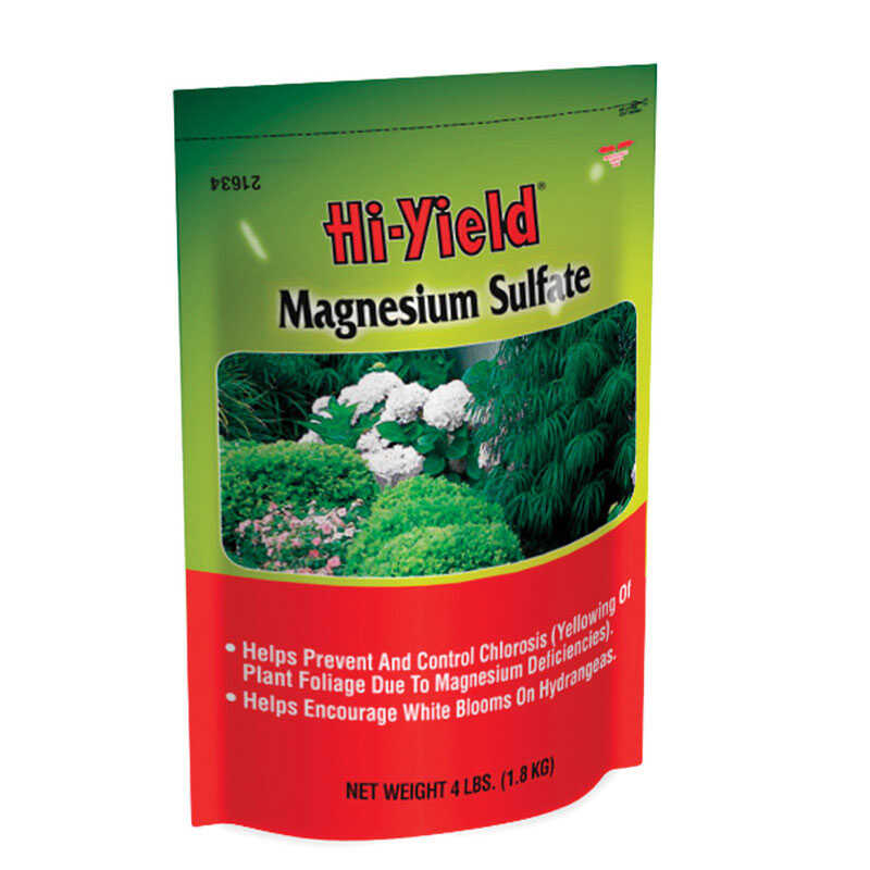 Hi-Yield  Magnesium Sulfate  Powder  Plant Food  4 lb.