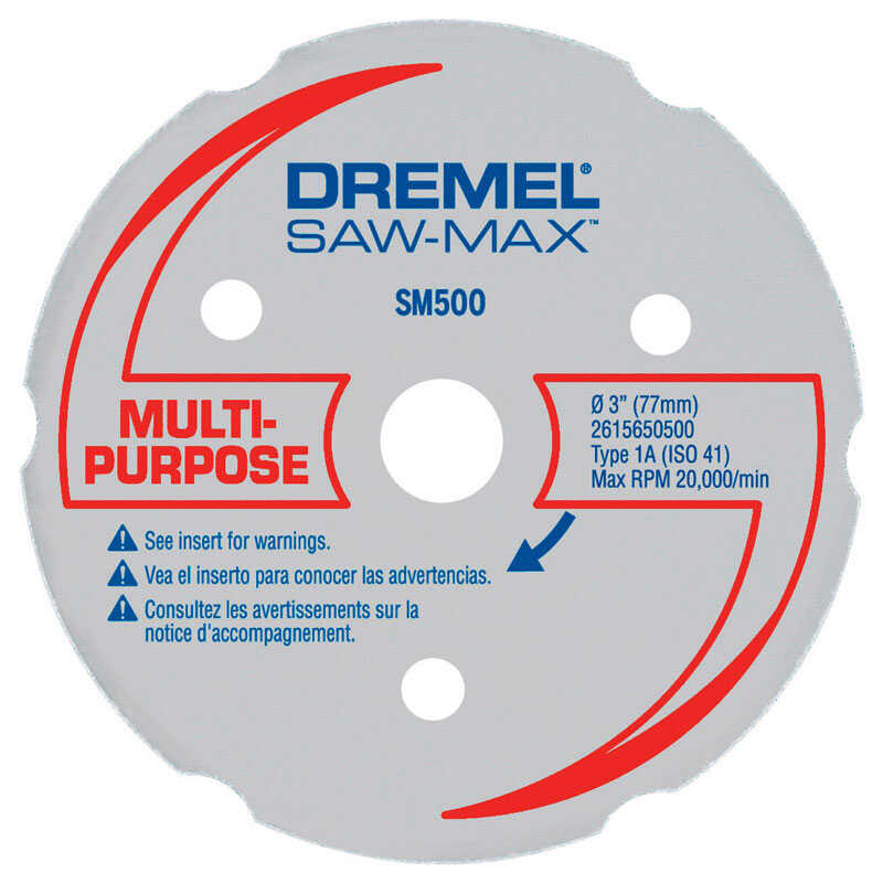 Dremel  3 in   x 3 in. L Carbide  Cutting Wheel  1 pk