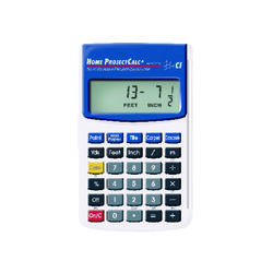 Calculated Industries  11 digit Project Calculator  Gray/Blue