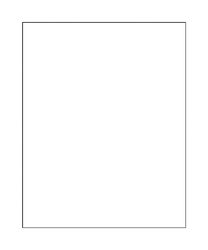 Office Depot  14 in. W x 11 in. L White  Poster Board