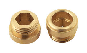 BrassCraft  7/16 - 27 in. #10  Brass  Faucet Seats  11/32 in.