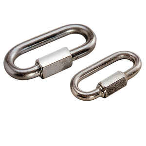 Reese  Towpower  Chrome Plated Steel  1.2 in. Quick Link