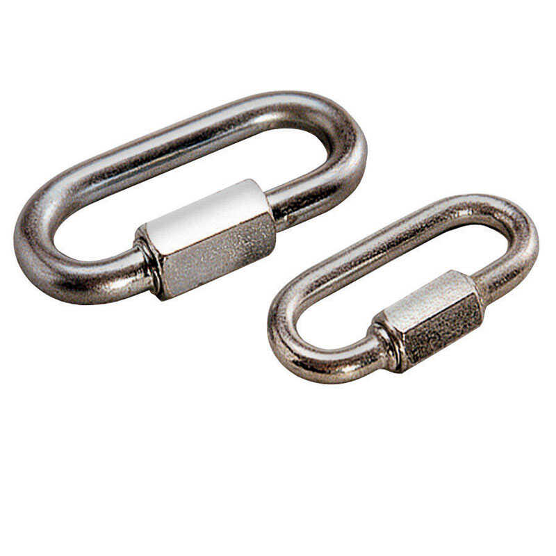 Reese  Towpower  Chrome Plated Steel  Quick Link  1.2 in.