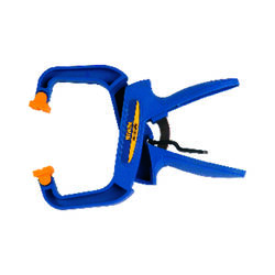 Irwin Quick-Grip 4 in. x 3 in. D Locking Handi-Clamp 60 lb. 1 pc.
