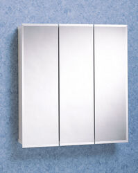 Zenith  25.5 in. H x 23.63 in. W x 4-1/2 in. D Rectangle  Medicine Cabinet