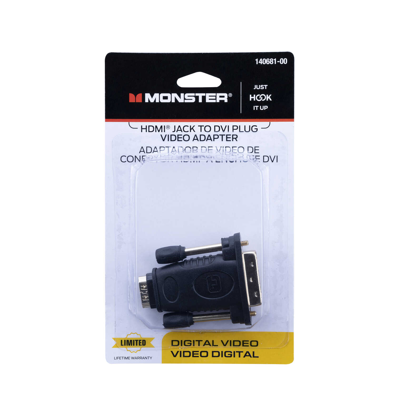 Monster Cable Hook It Up HDMI Adapter 1 each - Ace Hardware