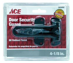 Ace  Oil Rubbed Bronze  Steel  Chain Door Guard