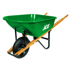 Ace  Steel  Residential Wheelbarrow  6 cu. ft.