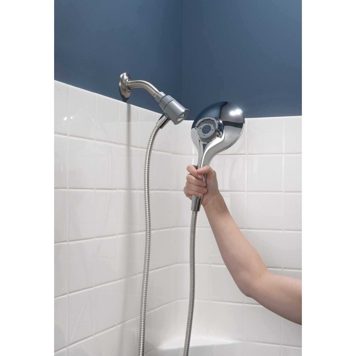 Moen  Engage  Chrome  6 settings Handheld Showerhead  2 gpm