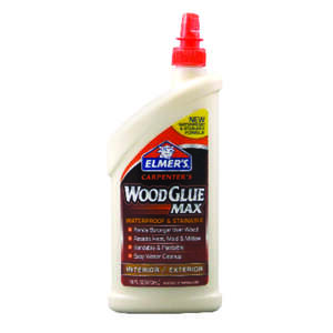 Elmer's  Beige  Wood Glue  16 oz.
