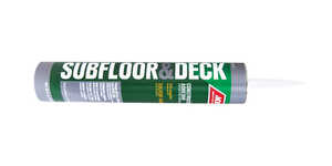 Ace  Subfloor & Deck  Liquid  Construction Adhesive  28 oz.