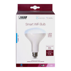 Feit Electric  BR30  E26 (Medium)  Smart WiFi LED Bulb  Daylight  65 Watt Equivalence 1 pk