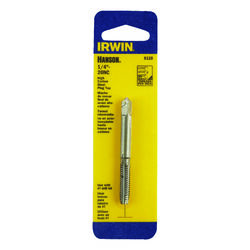 Irwin  Hanson  High Carbon Steel  SAE  Fraction Tap  1/4 in.-20NC  1 pc.