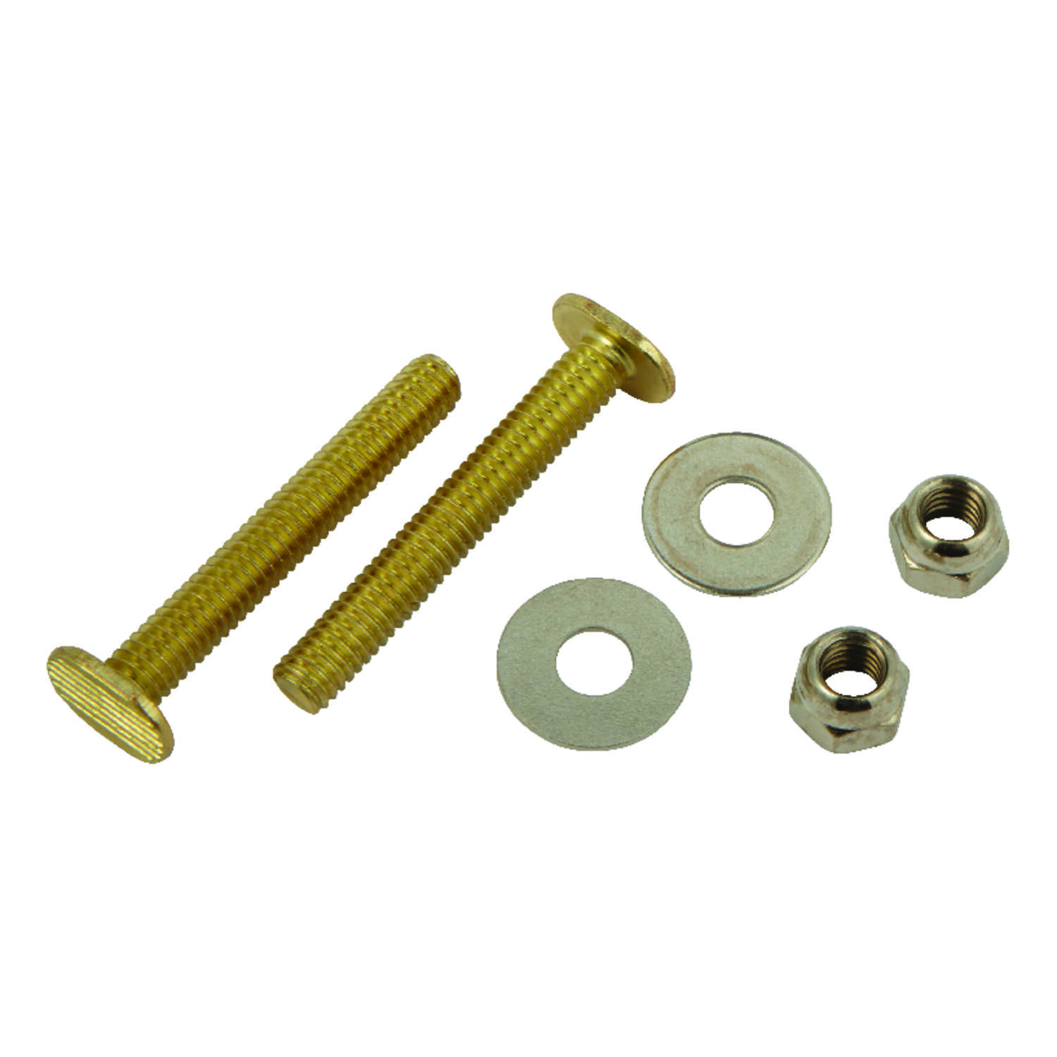Ace  Toilet Bolt Set  5/16 in. H x 2-1/4 in. L Brass