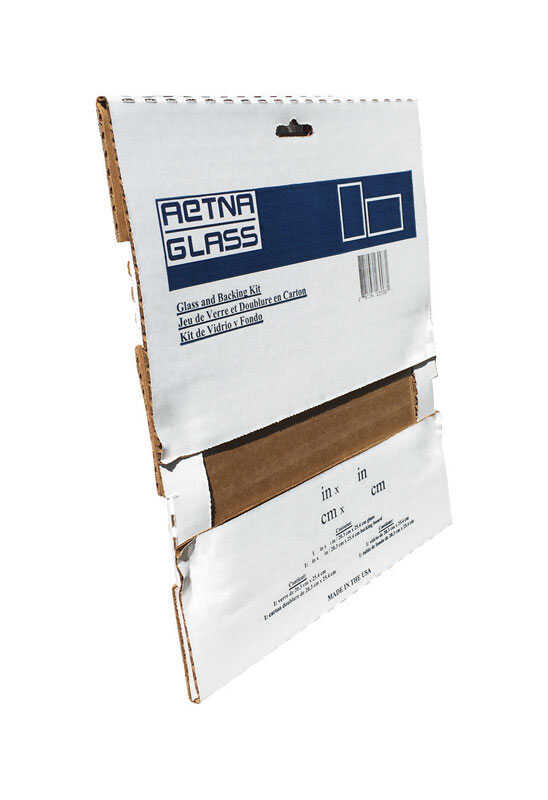 Aetna Glass  Clear  Single  Glass Sheet  11 in. W x 14 in. L x 2.3 mm