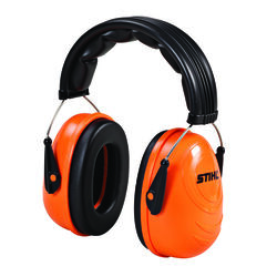 Stihl 25 dB Polyurethane Foam Professional Hearing Protectors Black/Orange 1 pair
