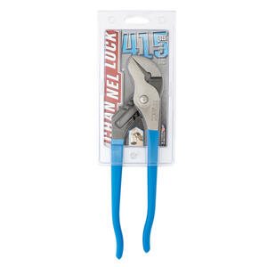 Channellock  10 in. Carbon Steel  Smooth Jaw Tongue and Groove Pliers  1 pk