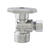 Plumb Pak  1/2 in. FIP   x 3/8 in.  Compression  Brass  Angle Valve