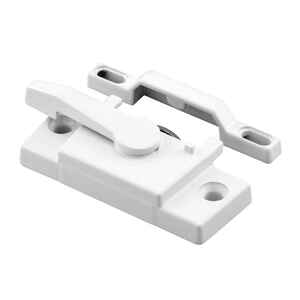Prime-Line  White  Vinyl  1 pk Window Lock