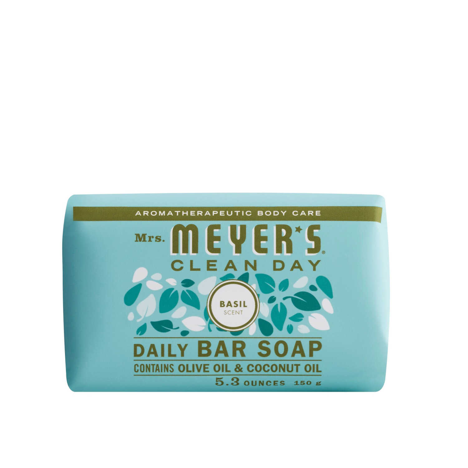 Mrs. Meyer's  Clean Day  Organic Basil Scent Bar Soap  5.3 oz.