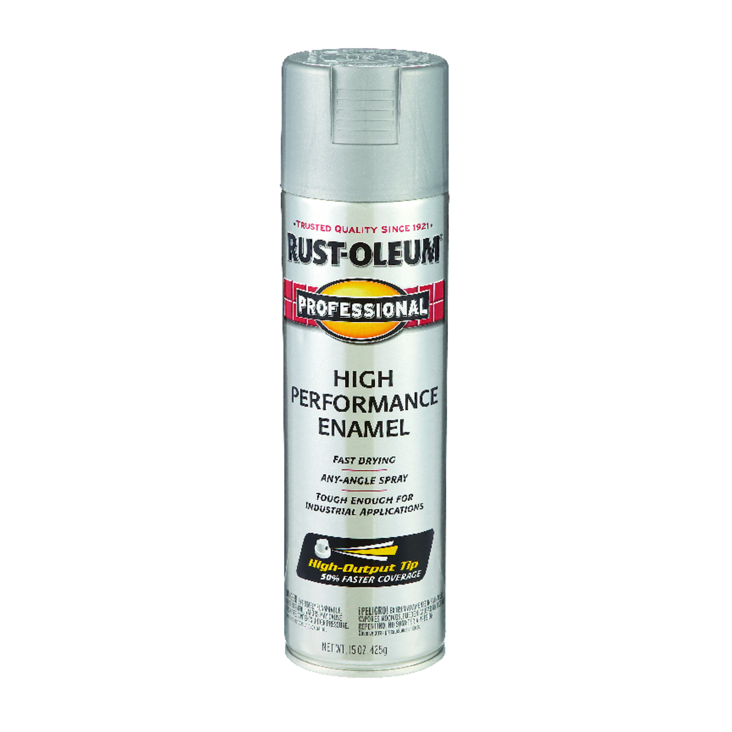 Rust-Oleum  Professional  Light Machine Gray  Spray Paint  15 oz.
