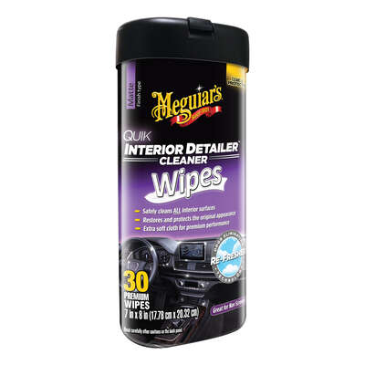 Meguiar's Multi-Surface Interior Detailer Wipes 25 wipes