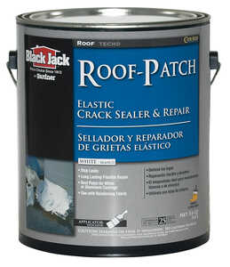 Black Jack  Gloss  White  Elastomeric  Elastomeric Roof Patch  1 gal.